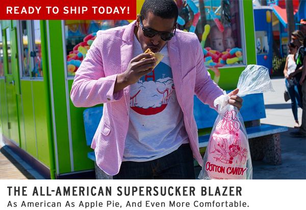 All-American Supersucker Blazer