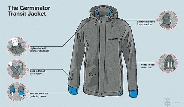 Men's Germinator Transit Jacket
