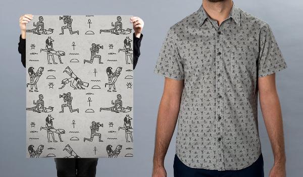 King-Smut Pornoglyphic Shirt