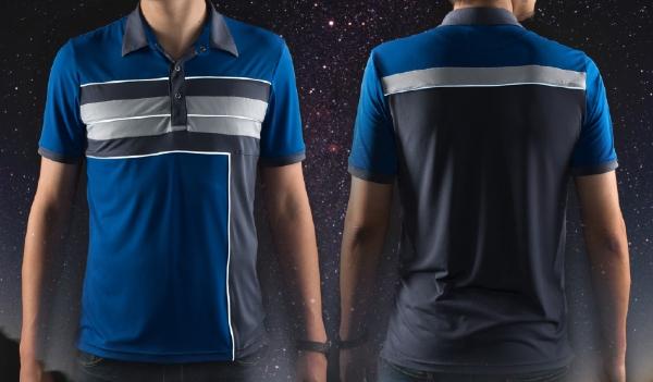 Blue Galactic Polo