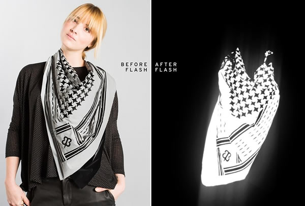 Flashback Silver-Screen Scarf