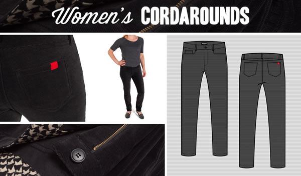 Women's Stretch-Skinny Cordarounds