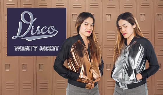 Disco Varsity Jacket