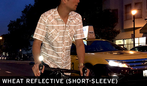 Wheat Reflective Shirt (Short-Sleeve)