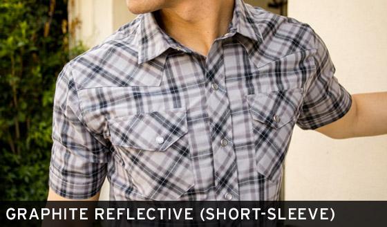 Graphite Reflective Shirt (Short-Sleeve)