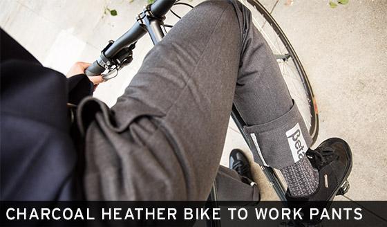 Charcoal Heather Bike to Work Pants