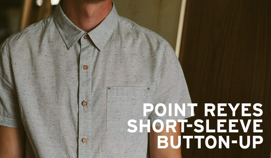 New! Point Reyes Short Sleeve Button-Up