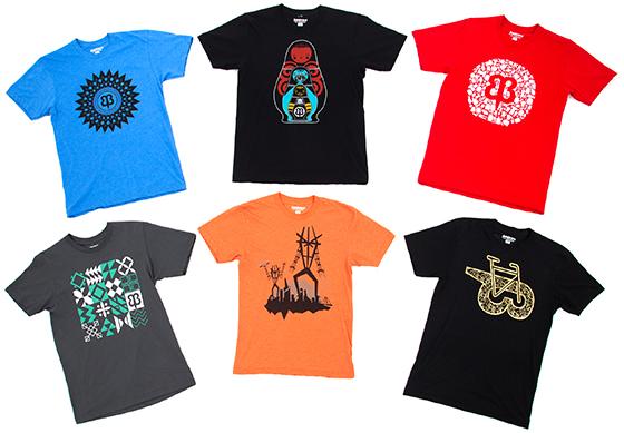 Six New T-Shirts
