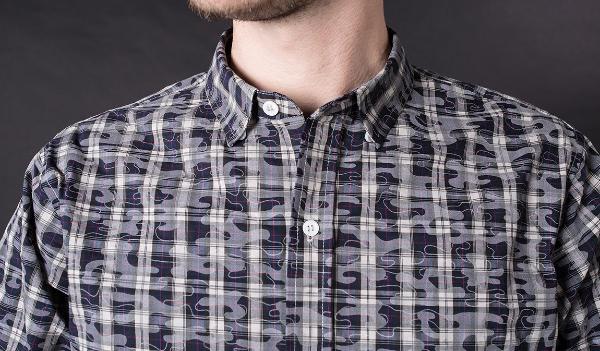 Flashback Camo-Plaid Shirt