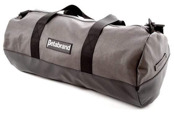 Charcoal Burrito Bag