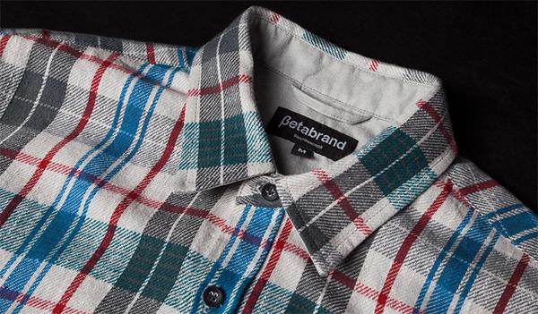 Gray Kobe Flannel Shirt