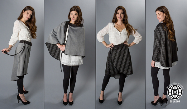 Viceversa Skirt/Cape: Four Looks In One!