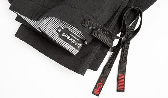 Black Seersucker Karate Casuals
