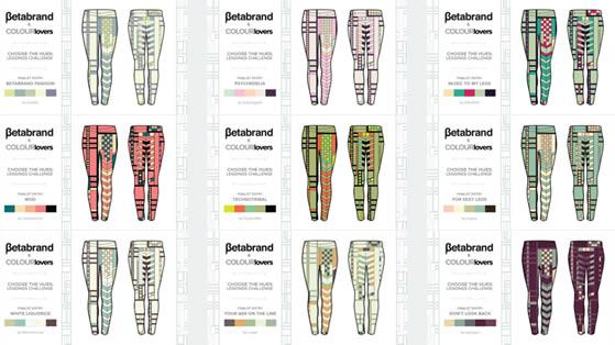 Betabrand /COLOURlovers Leggings Challenge