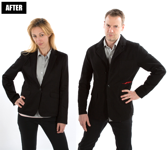 Men's Jackets (After Photo Retouching)