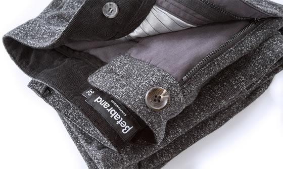 Gray-Static Betabrand Dress Sweats close-up shot