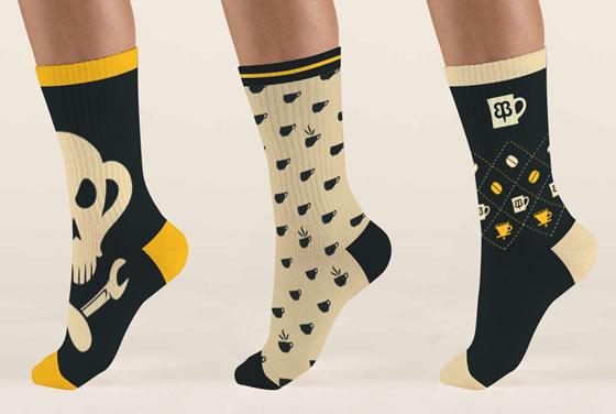 Espresso Socks