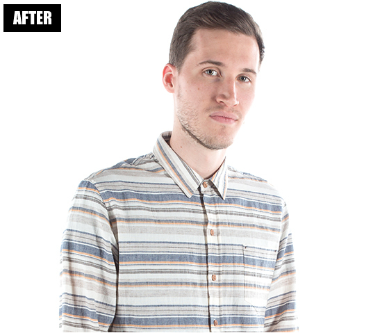 Men's Shirts (After Photo Retouching)