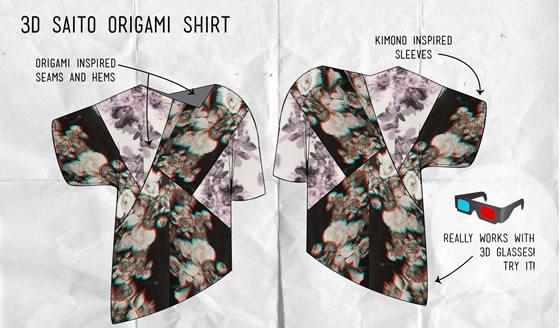 3D Origami Shirt