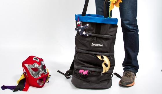 The Black Cornucopia Bag