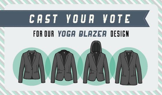 Women's Yoga Blazer Poll