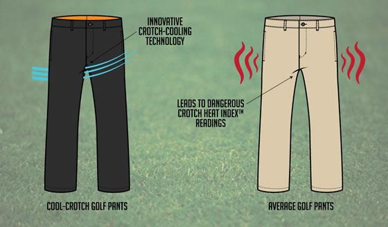 Cool-Crotch Golf Pants