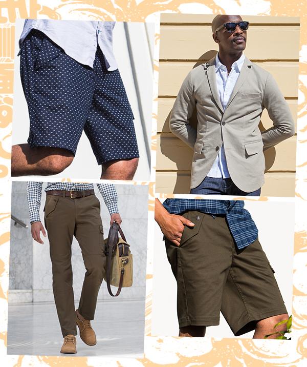 New Saito Shorts, Saito Blazer & Japants