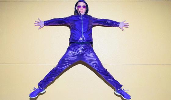 Purple Disco Pants