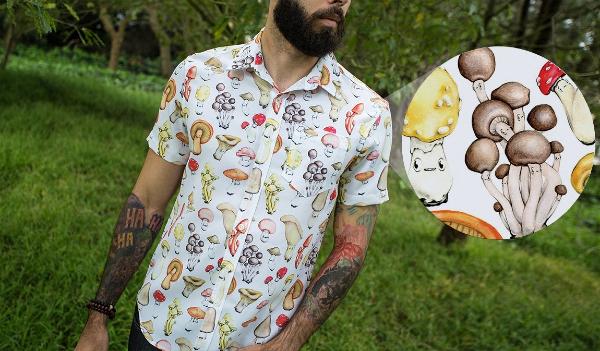 Men's Shroom Shirt