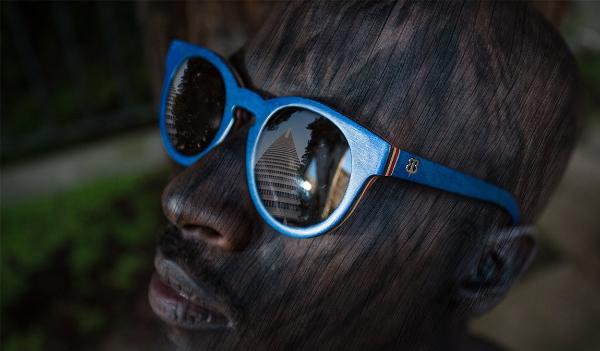 Bosky Wood-Frame Sunglasses
