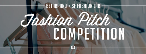 Fashion pitch competition this Thursday!