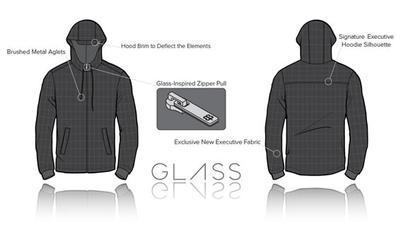 Glass Explorer's Executive Hoodie