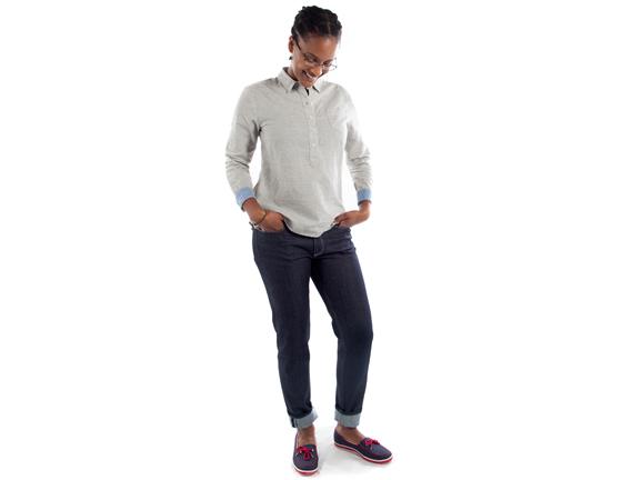 Indigo Better-Boyfriend Jeans