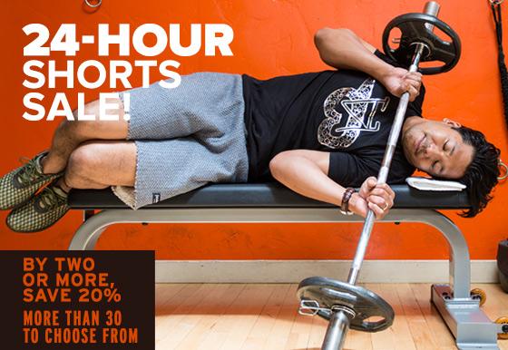 24-Hour Shorts Sale