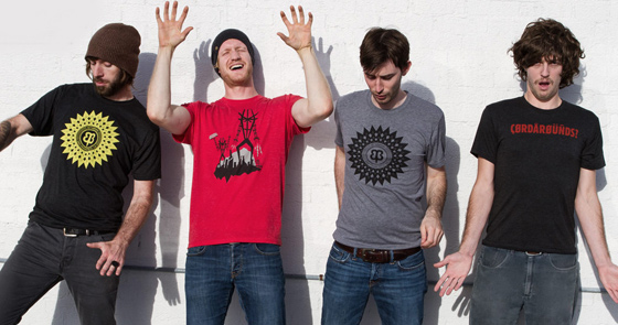 Four thrilling new Betabrand T-shirts