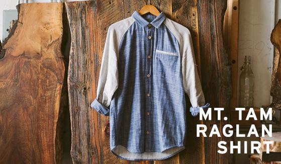 New! Mt. Tam Raglan Shirt