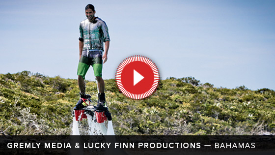 Disco Flyboard Video