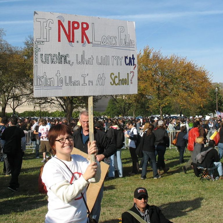 """""""Rally to Restore Sanity"""" by Reclamation Revolution is licensed under CC BY-NC-SA 2.0"""