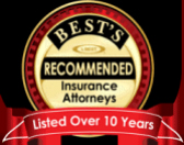 Recommended Attorneys Award