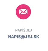 Napíš JEJ - email