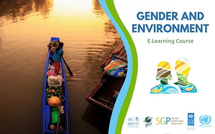 MODULE 5 OF THE GENDER AND ENVIRONEMENT E-COURSE IS AVAILABLE!