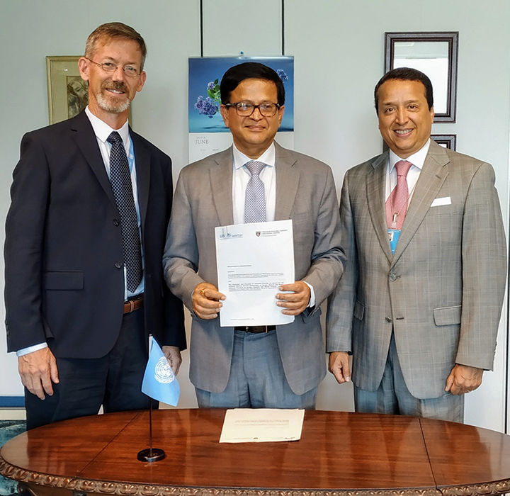 UNITAR AND HARVARD MEDICAL SCHOOL'S PROGRAM IN GLOBAL SURGERY AND SOCIAL CHANGE TO COOPERATE ON CAPACITY BUILDING