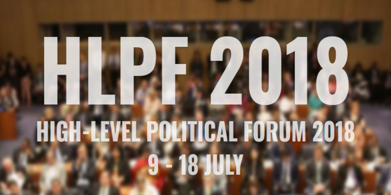UNITAR Events at HLPF2018