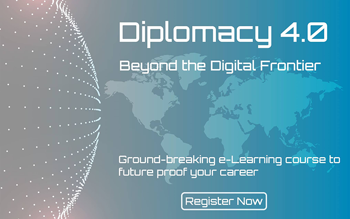 e-Learning course on Diplomacy 4.0