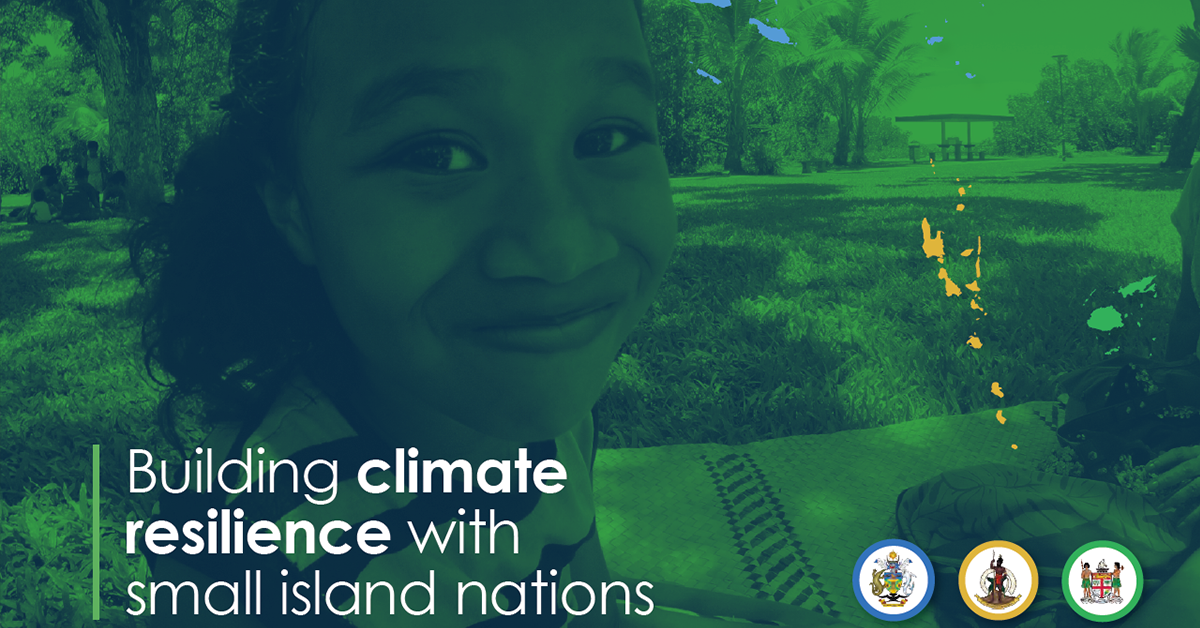 COMMONSENSING: BUILDING CLIMATE RESILIENCE  IN SMALL ISLAND DEVELOPING STATES