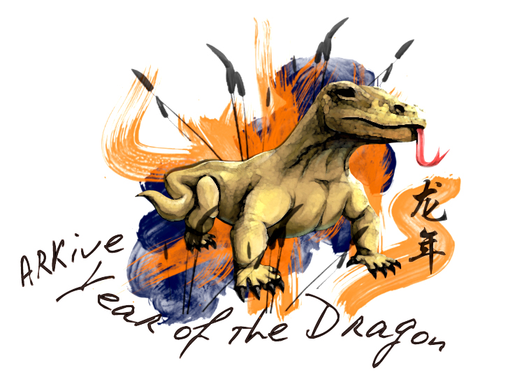 Celebrate the Year of the Dragon on ARKive's Facebook page.