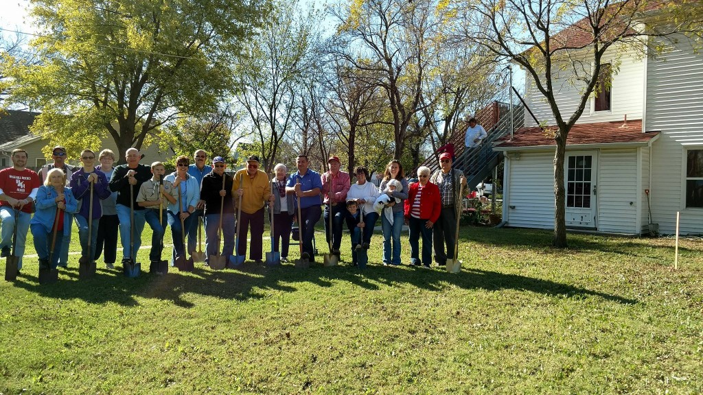 Rose Hill Historical Society Ground Breaking