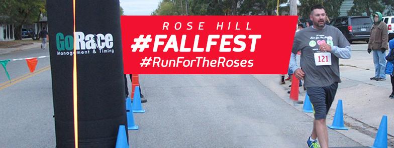 Rose Hill Fall Festival Run for the Roses 1M/5K