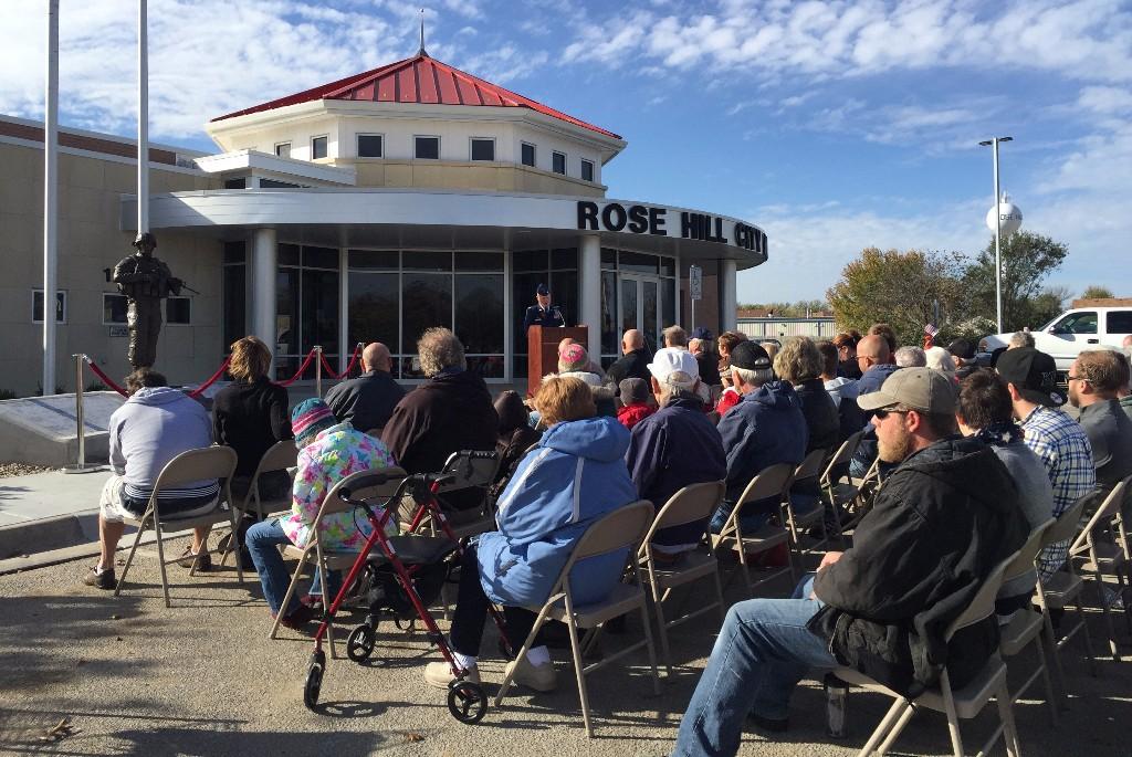 Veterans Day Memorial Dedication