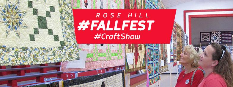 Rose Hill Fall Festival Craft Show